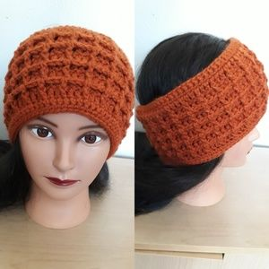 Pumpkin Spice Ear Warmer